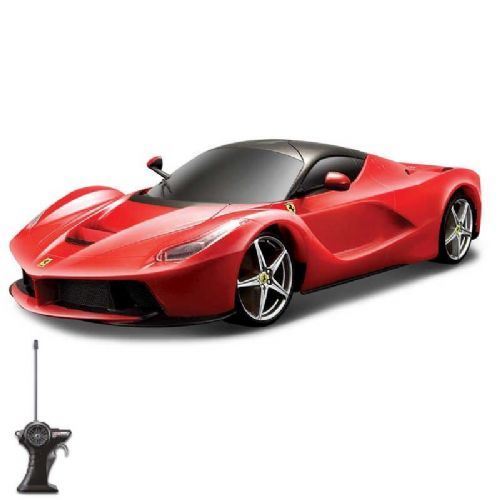 Maisto 1:24 Scale Laferrari Remote Control RC Toy Car Matt Black Colour
